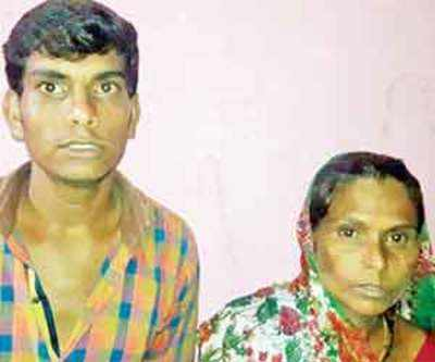 Dalit mother-son thrashed, 17 held