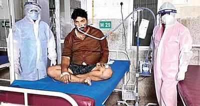 COVID-19: High-flow tube is guzzler of oxygen, avoid it, says task force