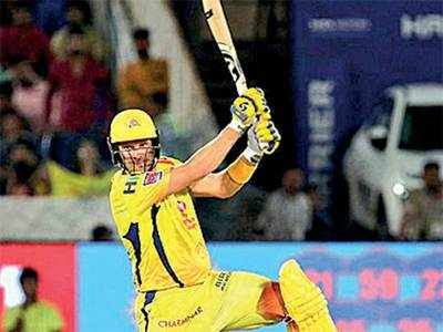 CSK's Shane Watson batted with bleeding knee in IPL final