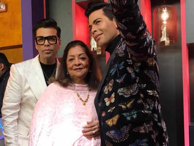 Karan Johar unveils his wax statue at Madame Tussauds Singapore
