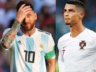 FIFA World Cup 2018: As Argentina and Portugal both get eliminated, Cristiano Ronaldo and Lionel Messi lose chance to seal legacy