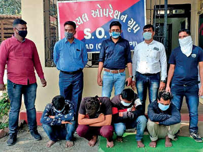 Gujarat ATS seizes drugs worth Rs 27 L; four held