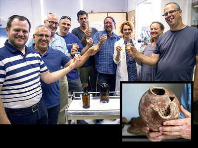 Beer brewed using yeast from ancient Egypt
