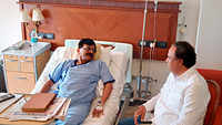 Sharad Pawar, Uddhav Thackeray visit Lilavati Hospital to meet Sanjay Raut