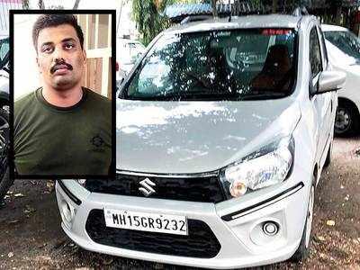 Fake cop nabbed trying to flee on Nashik highway