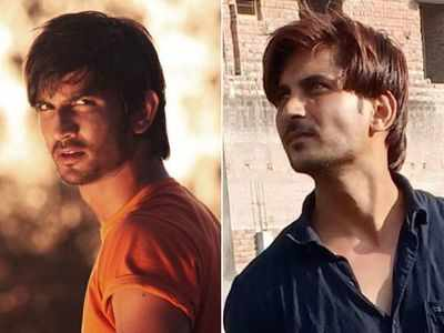 Sushant Singh Rajput's doppelganger Sachin Tiwari gets popular on social media; see pictures