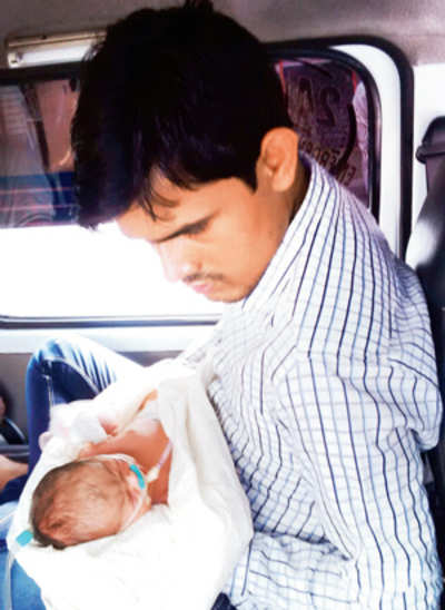 Couple's 24-hr struggle to get medical care for baby