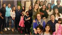 Alia Bhatt, Ranbir Kapoor, Rishi Kapoor spend quality time with Aishwarya Rai Bachchan, Abhishek Bachchan in New York
