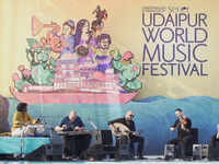 Three-day Udaipur World Music Festival kicks-off today