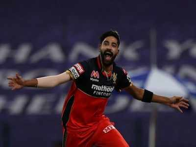 RCB vs KKR: Siraj becomes first bowler to bowl two maiden overs in IPL match