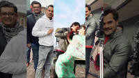 Shooting of Khesari Lal Yada and Madhu Sharma starrer 'Balamuwa Kaise Tejab' underway in London