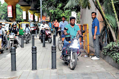 Footpath riders, your time is up*