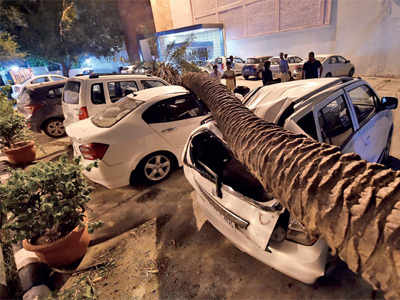 Storm wreaks havoc in Delhi