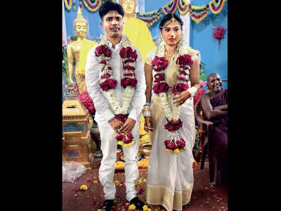 Lalita-turned-Lalit is now a husband: Beed constable who underwent a sex change operation gets married to a 22-year-old woman