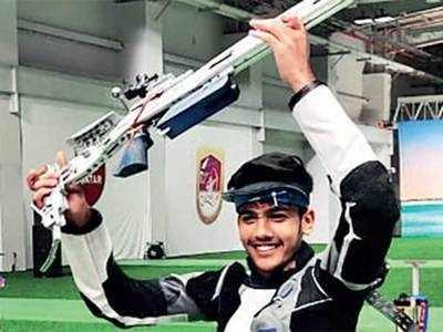 Aishwary Pratap Singh Tomar, Angad Vir Singh Bajwa, Mairaj Ahmad Khan take shooting Olympic spots to record 15