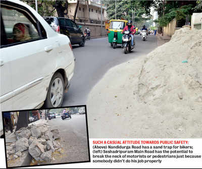 Traffic police's latest enemies on roads of Bengaluru: Debris, trash