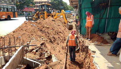 Bengaluru: BBMP manages to clear all hurdles around Majestic