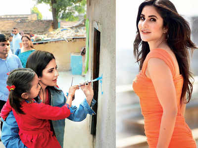 Katrina Kaif is on a mission to educate girls