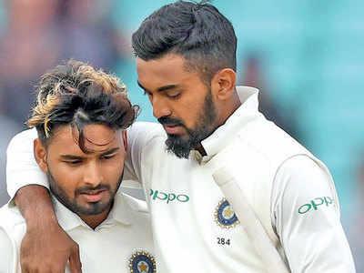 India vs England Test series: KL Rahul, Rishabh Pant put up a fight