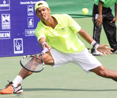Somdev in singles, doubles final of Shanghai Challenger
