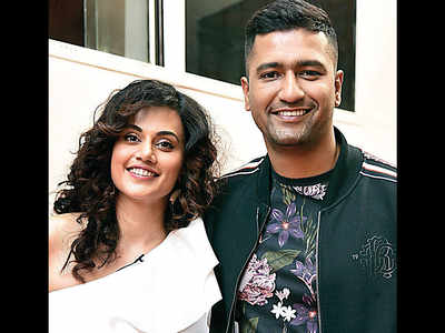 Vicky is 'marriage material' for Taapsee