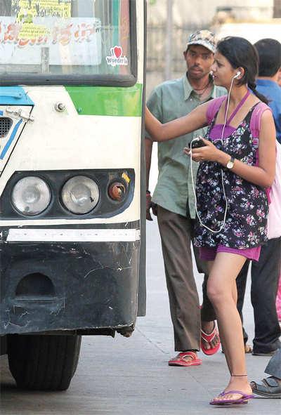 City nears Delhi in public transport use