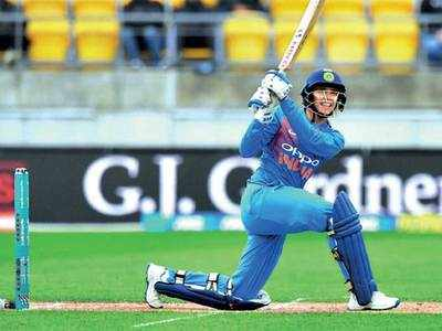 SMRITI SHINES BUT INDIA FAIL