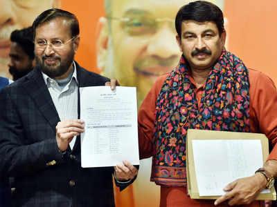 BJP declares 57 candidates for Delhi polls