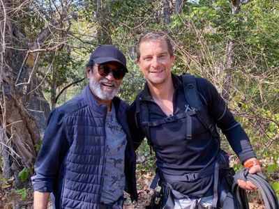 Bear Grylls: Rajinikanth was brave, determined and never gave up