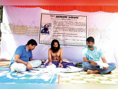 Man goes on hunger strike for SRA home