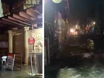 Shopkeepers near Dagdusheth Halwai Ganpati temple suffer heavy losses after rain