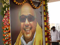 Watch: Karunanidhi's memorial service in Chennai