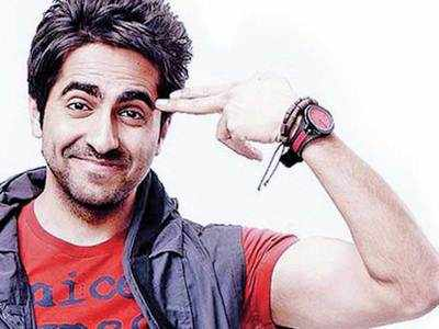 When Ayushmann goes back to being himself