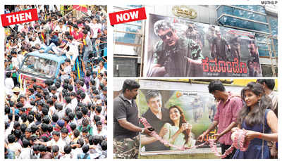 56 years after activists started protesting against dubbed films: Sandalwood has gone Commando