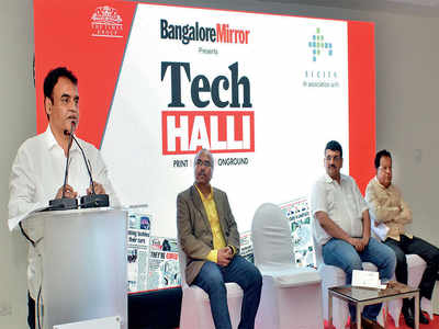 'We will fix all the problems of Bengaluru,' promises Deputy CM Ashwath Narayan at Bangalore Mirror's maiden Tech Halli event