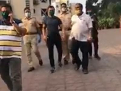 Ajaz Khan arrested for abusive post on social media
