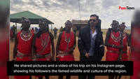 Arjun Rampal's African sojourn