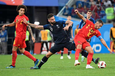 FIFA World Cup 2018: France reach World Cup final by beating Belgium