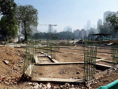 Construction of Babasaheb Ambedkar statue at Indu Mill compound in Dadar hit by Coronavirus epidemic in China