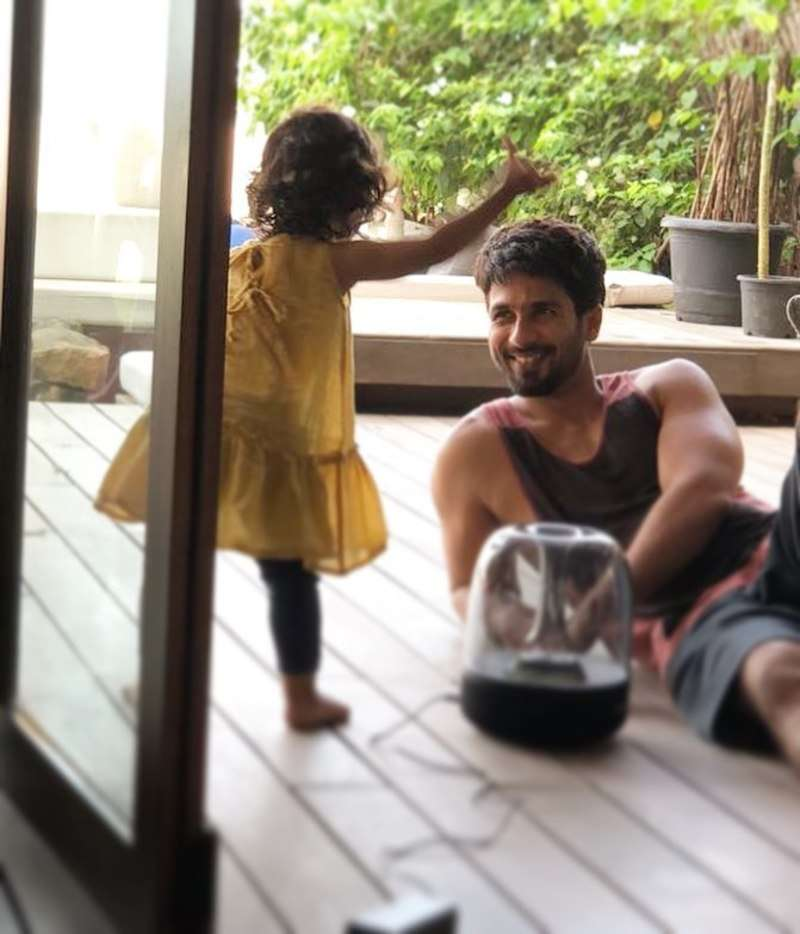 Shahid Kapoor enjoys quality time with daughter Misha