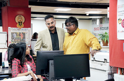 When Tryambakam came to the newsroom