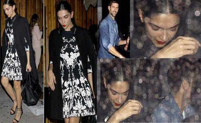 Deepika parties with Novak Djokovic in Los Angeles