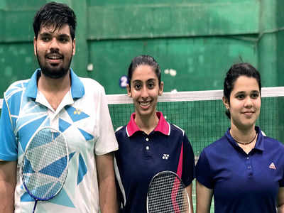 Sriya records doubles delight