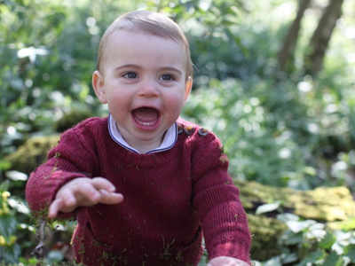 As Prince Louis turns one, UK's Royal Family releases pictures shot by mother Catherine