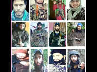 Indian Army releases list of 12 most-wanted terrorists active in J&K