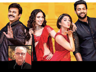 Now, a Hindi remake for Venkatesh and Tamannaah's Telugu Comedy F2-Fun and Frustration