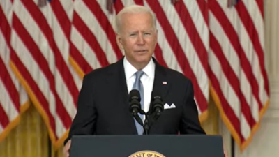 Afghanistan crisis live updates: Biden says 'nation building' was never a US goal in Afghanistan