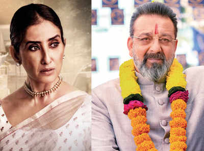 Manisha Koirala and Sanjay Dutt reunite after a decade for Prassthanam