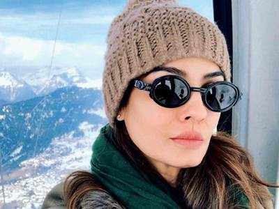 Cold is gold for Raveena Tandon