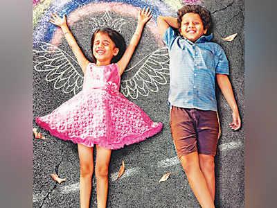 Khari Biscuit movie review: This Vedashree Khadilkar, Adarsh Kadam's film has the basic energy and fun element for the kids